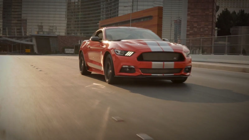 Shelby Mustang Video